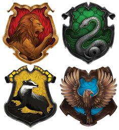 Lovely Hogwarts Houses