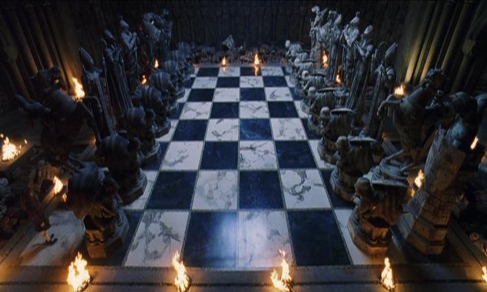 harry potter chess game