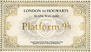 MinaLima Store - Hogwarts Express Ticket