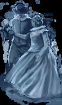 Couple de fantômes