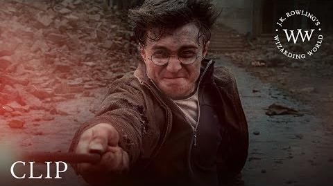 Harry vs Lord Voldemort Final Battle Harry Potter and the Deathly Hallows Pt. 2