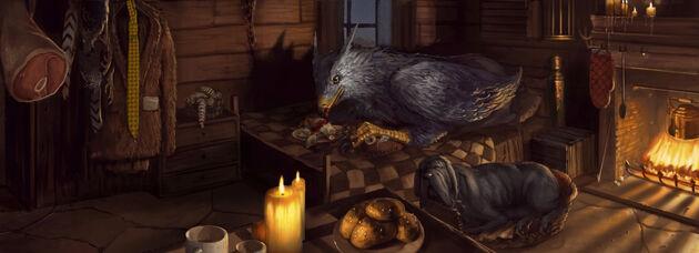 鹰头马身有翼兽巴克比克。