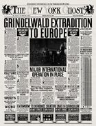 The New York Ghost – 'Grindelwald Extradition to Europe'