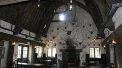 Three Broomsticks Interior