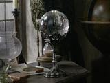 Nicolas Flamel's crystal ball