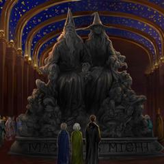 Статуя «Магия — сила» на <a href=