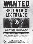MinaLima Store - Bellatrix Lestrange Wanted - Poster