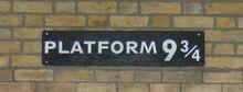 Plateforme 9 3 4