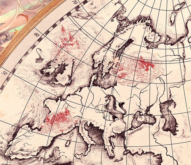 Harry Potter Map Of England.Europe Harry Potter Wiki Fandom Powered By Wikia