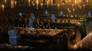 Pottermore the sorting ceremony