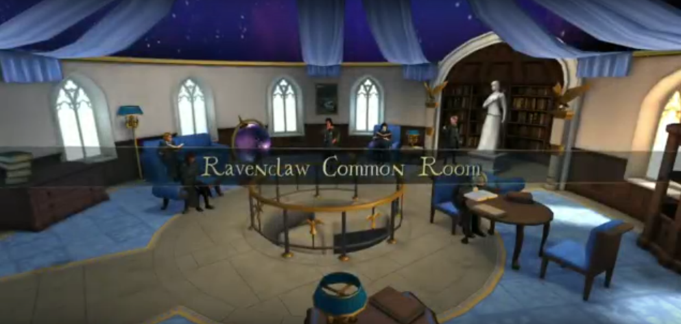 Image - Ravenclaw Common Room-Hogwarts Mystery.png | Harry Potter ...