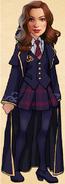 Katherine Romanov -Ilvermorny student (winter coat)-