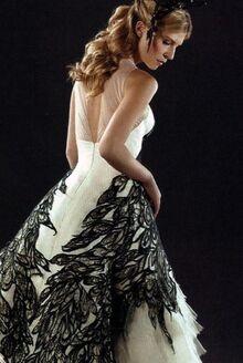 Fleur Delacour in her wedding dress
