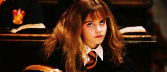 Hermione eye roll