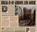 Einbruch bei Gibbons und Gorsh