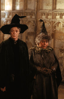 Sprout with McGonagall