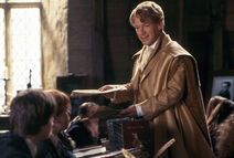 Gilderoy Lockhart giving the tests