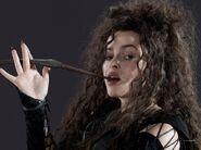 DH1 Bellatrix Lestrange with her wand 01-1-