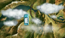 2.18 Ford Anglia - Ford Anglia Flying Over Hogwarts Express B2C5M1