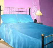 Blue Bed 3