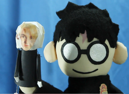 draco malfoy harry potter puppet pals wiki fandom powered by wikia