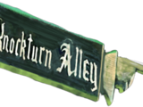 Knockturn Alley Sign