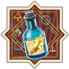 Badge Exstimulo Potions Used III