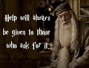 Dumbledore - Help