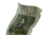 Wanted Poster of Sirius Black