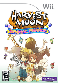 Harvest Moon - Animal Parade Coverart-1-