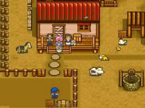 Endings (SNES)   Harvest Moon Wiki   FANDOM powered by Wikia