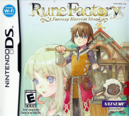 Rune Factory US box art