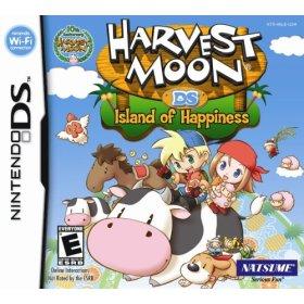 Harvest moon island of happiness