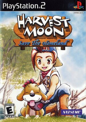 Harvest moon ps2