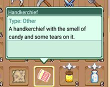 Handkerchief Quest Item