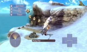 Winter Island - Harvesting mining Ores