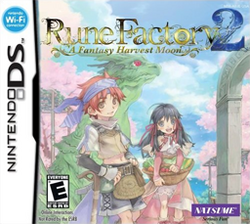 Rune Factory 2 - A Fantasy Harvest Moon Coverart