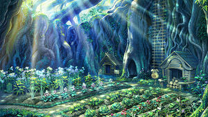 Rune Factory Havest Moon Garden