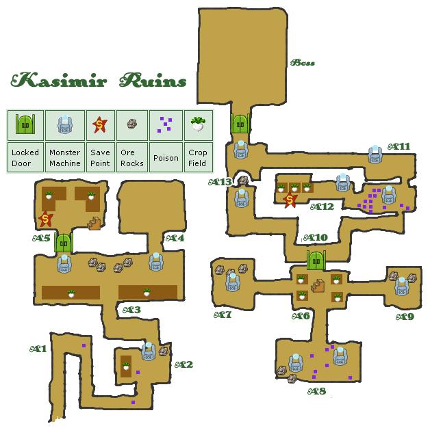 Map kasimir