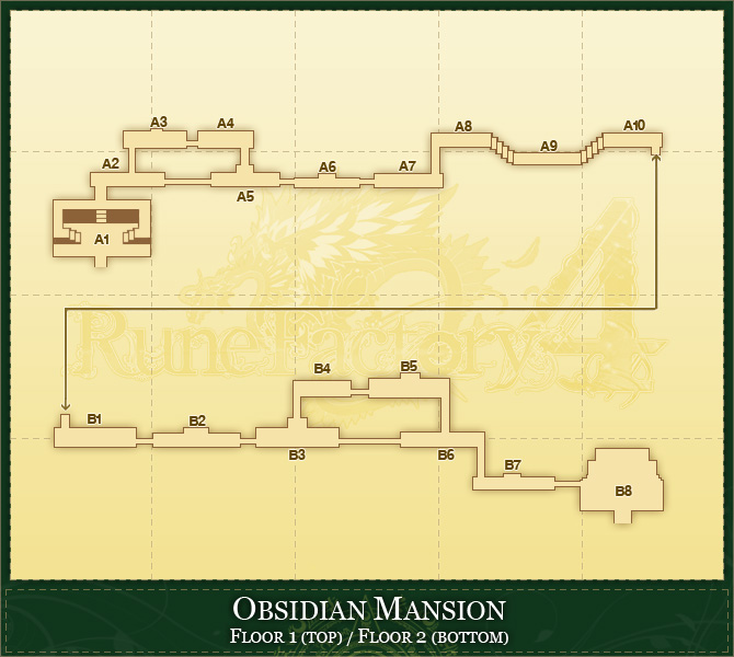Obsidian mansion