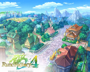 Rune Factory Tides of Destiny City Center