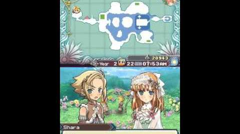 Rune Factory 3 A Fantasy Harvest Moon Propose to Shara