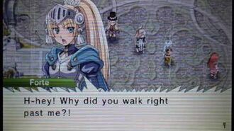 Rune Factory 4 Leon Town Event - A Day In Leon's Life