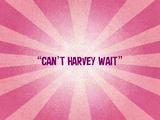 Can't Harvey Wait