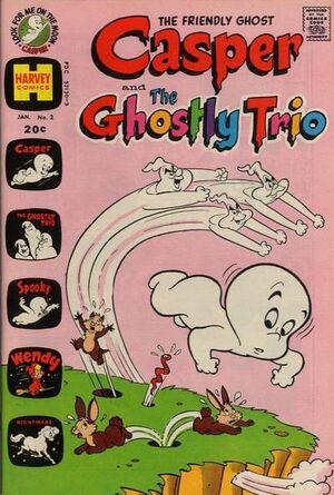 Casper and The Ghostly Trio Vol 1 2