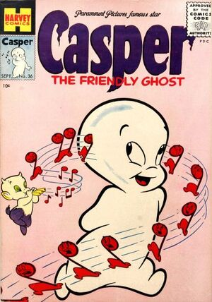 Casper the Friendly Ghost Vol 1 36