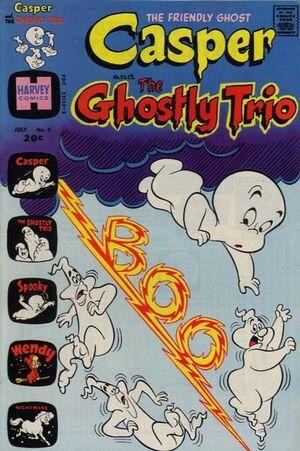 Casper and The Ghostly Trio Vol 1 5