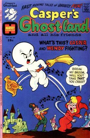 Casper's Ghostland Vol 1 85