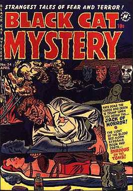 Black Cat Mystery Comics Vol 1 34