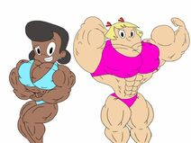 Dot and lotta flexing by ducklover4072 dd4by5c-fullview